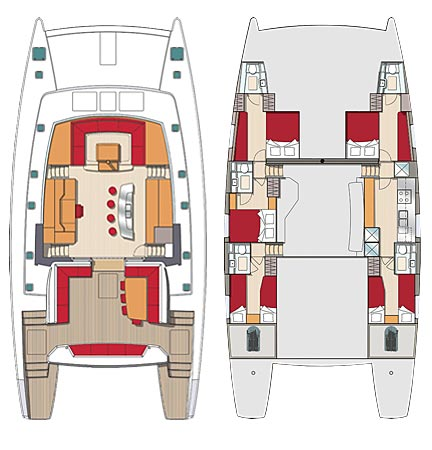 Long Charter 5 cabines