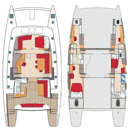 Sea view 3 cabines